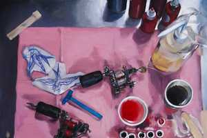 Shawn Barber Portrays Life in the Parlor Through Oil Paintings