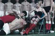 Lara Stone Controls Steven Klein's Academy in W Magazine