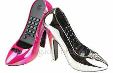 Cinderella High-Heel Landline Lets You Talk Past the Stroke of Midnight
