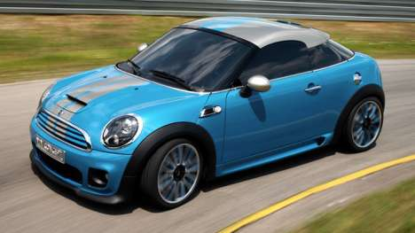 Miniature MINI Coopers - BMW Gets Small With the MINI Coupe Concept Car