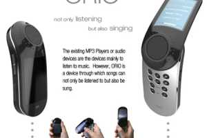 Orio MP3 Player Lets You Create Your Own Musical Creations
