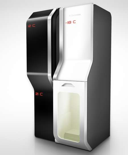 Sci-Fi Appliances - Teleport Fridge Eliminates the Need for Grocery Shopping