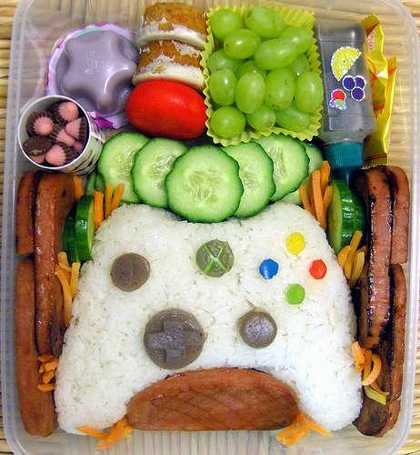 Gamer-Centric Sushi - Laura Bento Creates Xbox Controller Bento Box