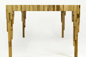 Emiliano Godoy Creates a 'Drip Table' With Varying Heights