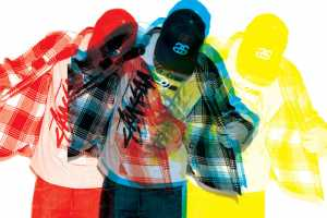 It's Hard to See Product in Stussy's Fall 2009 Mini Catalog