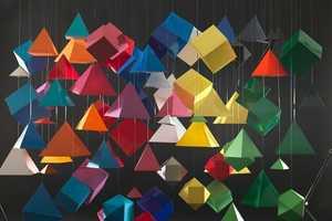 Romain Lenancker Creates Colorful Origami Masterpieces