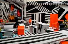 Hallucinogenic Cafeterias - Designer Tobias Rehberger Wins With Trippy Lunch Space