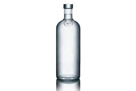 Blank Bottle Branding - Absolut Vodka No Label Edition Coming in September