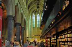 Converted Church Bookstores - The Boekhandel Seleyz Dominicanen is a Dazzling Literature Display