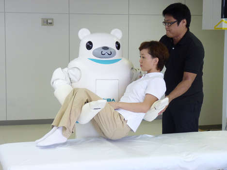Nurse Robots - RIBA Assists and Interacts with Humans