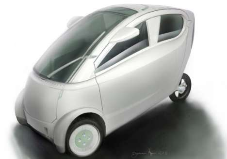 Multi-Vehicle Hybrids - Jameson Klug's City is an All-in-One Eco Car and Motorbike