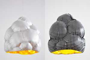 Bertjan Pot Creates Lights From Fabric-Covered Balloons