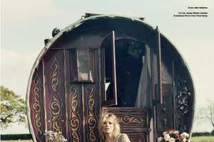 'Kate & the Gypsies' for V Magazine #61 is Bohemian Beautiful