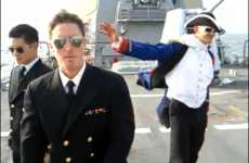 Military Hip-Hop Parodies - US Navy's 'I'm On a Boat' Adds Brass to The Lonely Island's Badass
