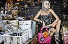 Stylish Shopping Shoots - Julius Bramanto's 'Market Maiden' Makes the Farmer's Market Fashionable