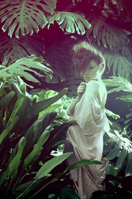 Fashionable Forest Nymphs - Xiaoke Lu's 'Maboo' Shows Ethereal, Spritely Style