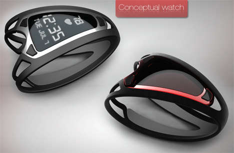 Fitness Watches - Max Germano's Watchband Monitors Your Heart Beat
