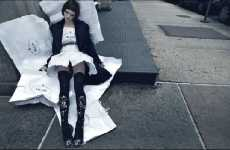 Mock Ad Advertising - W Magazine Juxtaposes High Fashion and Homelessness