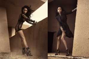 Megan Fox Stars in Mariano Vivanco's Gloomy Wonderland