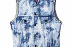 Acid Wash Vests