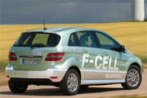 Mercedes B-Class F-Cell Hydrogen Car is Ready to Roll