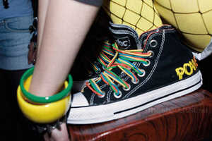 Converse Special Edition Chuck Taylors AC/DC Shoes