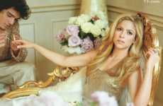 Shakira Gets Pampered in Vanity Fair