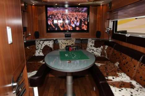 Man Caves on Wheels - The 'Men-Only' RV has Playboys and Blow Up Dolls