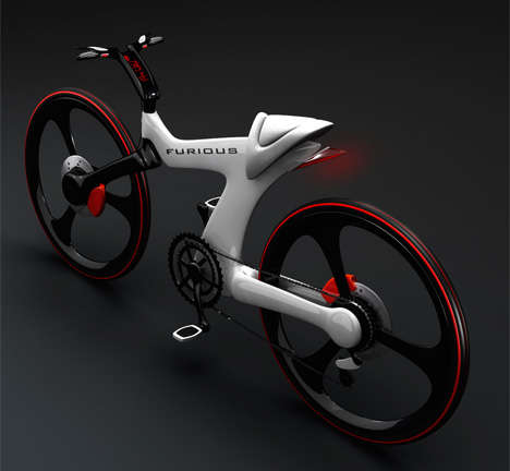 Space-Age Bicycles - Nenad Kostadinov's Furious Bike is Out of This World
