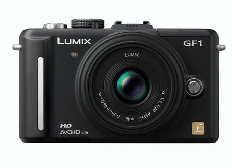 High-End Compact Cameras - Panasonic Lumix DMC-GF1 Digital Camera