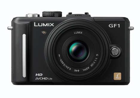 High-End Compact Cameras - Panasonic Lumix DMC-GF1 Digital Camera