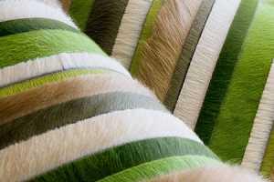 Kyle Bunting Creates Hip Cowhide Carpets