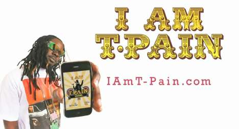 On-the-Go Auto-Tune - 'I am T-Pain' iPhone App Lets Everyone Achieve Star Status