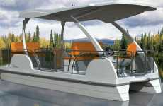 Solar Power Cruisers - Float Silently with a Buffalo Solar Boat