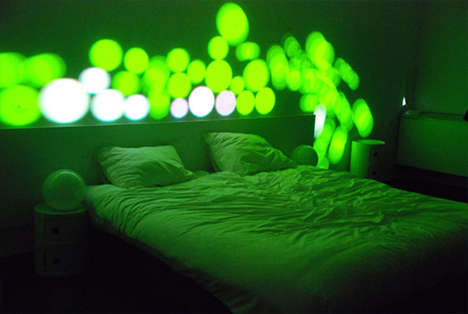 Interactive Indoor Light Shows - Disturb Me Installation Mesmerizes at the White Hotel