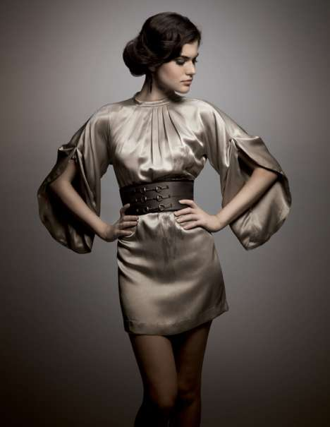 Kimono Sleeves & Gladiator Belts - Innocence & Arsenik Fall 2009 Lookbook Blends Cultures Beautifull