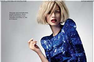 'Power Cuts' for Elle UK Channels 80s Fashion & Adds Architectura