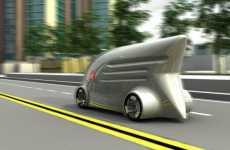 Speedy Postal Service Trucks