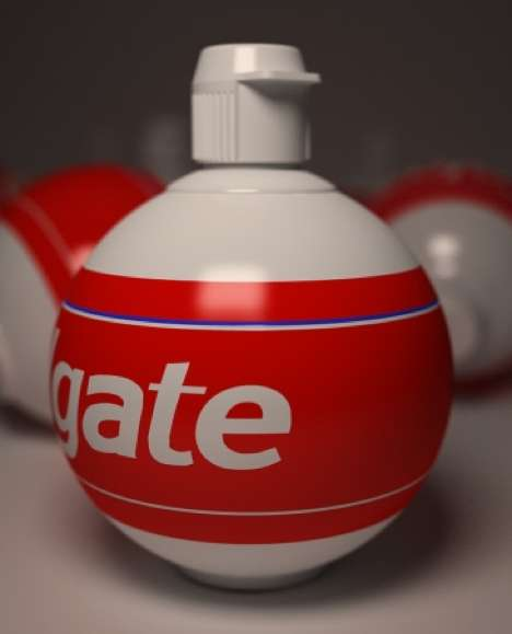 Bulbous Toothpaste Tubes - Martin Ortiz's Colgate Packaging Design Defies the Norm
