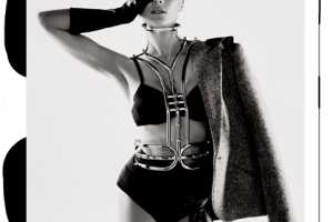 Diane Kruger Rocks Francesco Scognamiglio's Metal Corset in Interview Mag