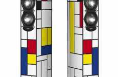 Elac Art-Edition FS 247 Speakers Channel Art of Piet Mondrian