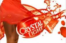 Deliciously Splashy 'Pump It Up' Ads for Crystal Light