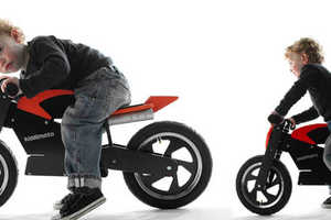 Wooden Balance Bikes Makes Learning to Ride Look Cool