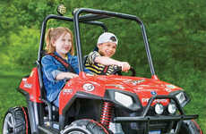 Child-Friendly ATVs - The Mini Polaris Ranger RZR is Designed for Adventurous Kids