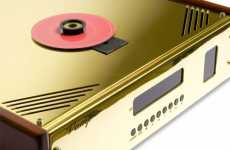 Wood & Gold Audio - Dimitris Zachariadis' Vamp NOS CD Player is Retro Glam