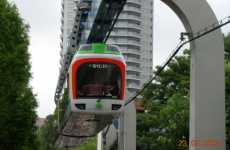 Bottoms Up Transit - Electric Inverted Monorail Could Come to a City Near You