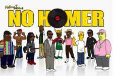 Simpsonized Rap Stars