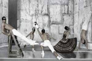 Ruven Afanador Presents Sharp Style in Elle Italia
