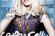 Bleached Celeb Emulation - Lily Allen Cops Kate Moss' Interview Mag Look for Elle Cover