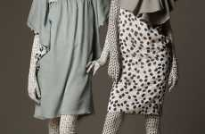 Patterned Full-Body Suits - Tima Sergeev & Janna Nesterova Take Zentai Mainstream